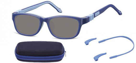 SFE-10608 kids sunglasses in Blue