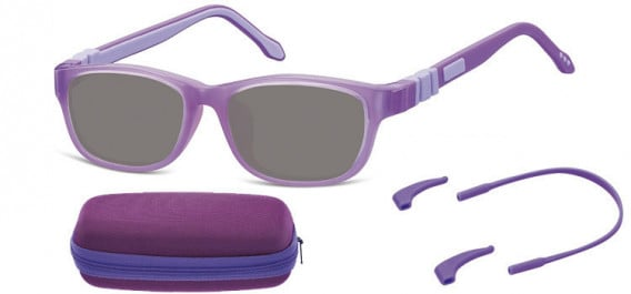 SFE-10608 kids sunglasses in Purple