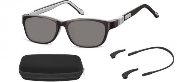 SFE-10607 kids sunglasses in Black