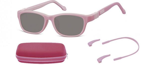 SFE-10607 kids sunglasses in Pink