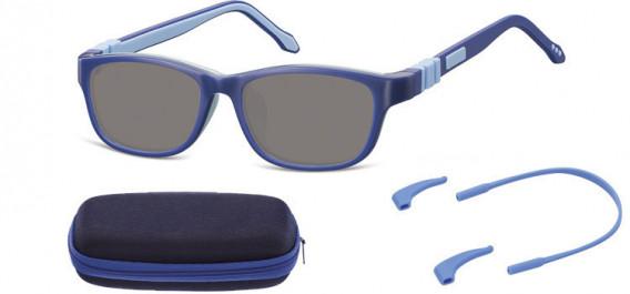 SFE-10607 kids sunglasses in Blue