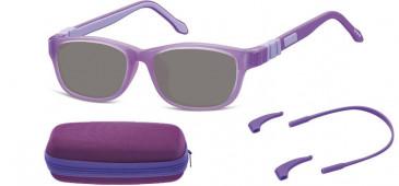 SFE-10607 kids sunglasses in Purple