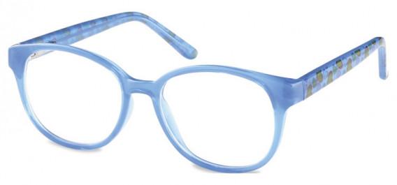 SFE-10599 kids glasses in Clear Blue