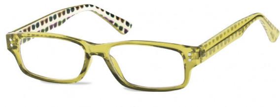 SFE-10602 kids glasses in Clear Olive