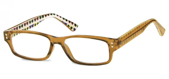 SFE-10602 kids glasses in Clear Brown