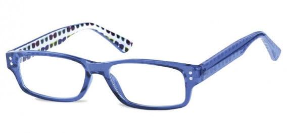 SFE-10602 kids glasses in Clear Blue