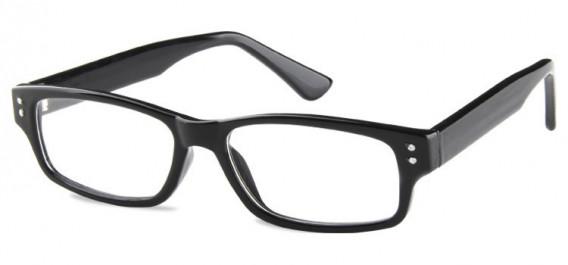 SFE-10601 kids glasses in Shiny Black