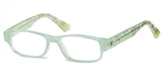 SFE-10601 kids glasses in Clear Green