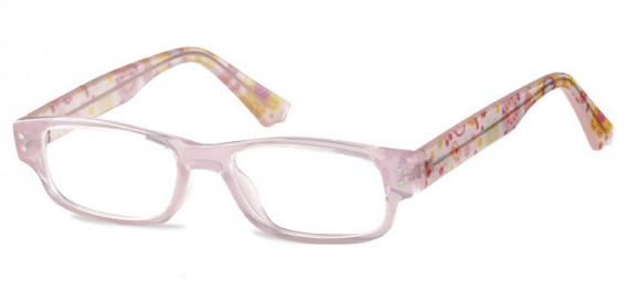 SFE-10601 kids glasses in Clear Pink