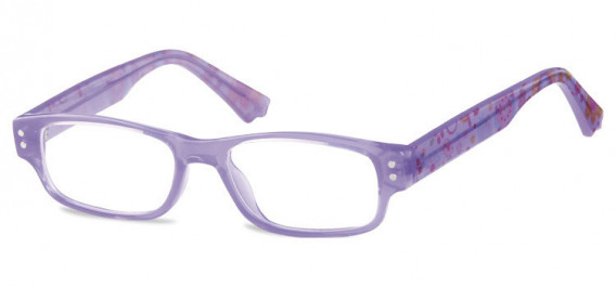 SFE-10601 kids glasses in Clear Purple