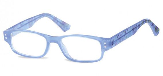 SFE-10601 kids glasses in Clear Blue