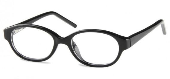 SFE-10600 kids glasses in Shiny Black
