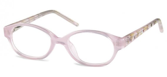 SFE-10600 kids glasses in Clear Pink
