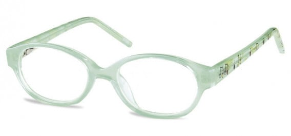 SFE-10600 kids glasses in Clear Green