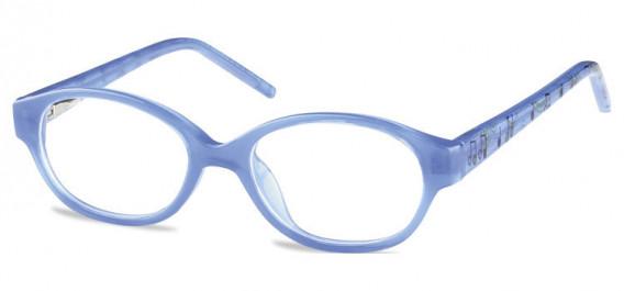 SFE-10600 kids glasses in Clear Blue