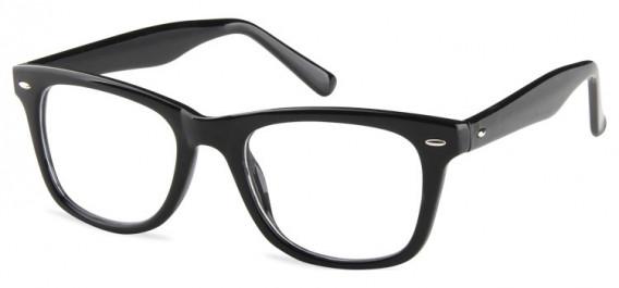 SFE-10598 kids glasses in Shiny Black