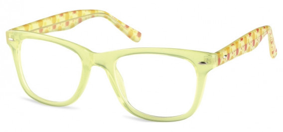 SFE-10598 kids glasses in Clear Olive