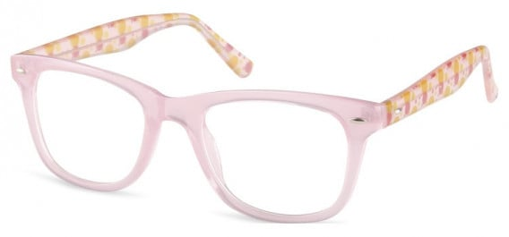 SFE-10598 kids glasses in Clear Pink