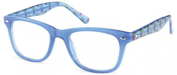 SFE-10598 kids glasses in Clear Blue