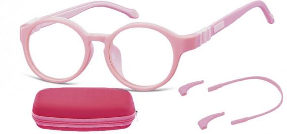 SFE-10597 kids glasses in Pink