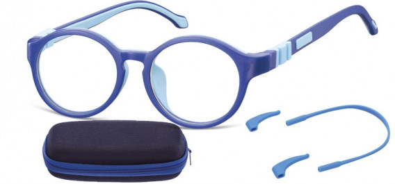 SFE-10597 kids glasses in Blue