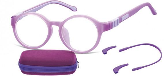 SFE-10597 kids glasses in Purple