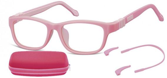 SFE-10595 kids glasses in Pink