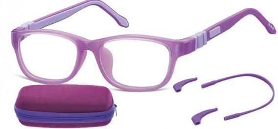 SFE-10595 kids glasses in Purple