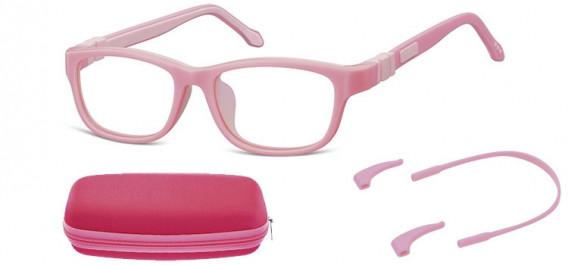 SFE-10594 kids glasses in Pink