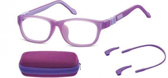 SFE-10594 kids glasses in Purple