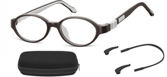SFE-10592 kids glasses in Black