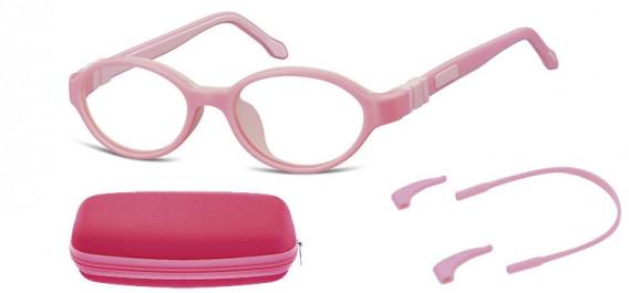 SFE-10592 kids glasses in Pink