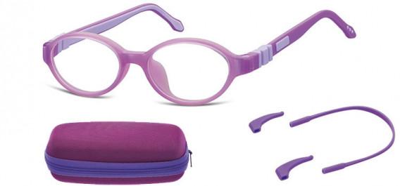 SFE-10592 kids glasses in Purple