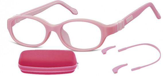 SFE-10591 kids glasses in Pink
