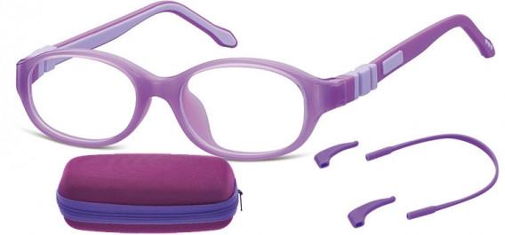 SFE-10591 kids glasses in Purple