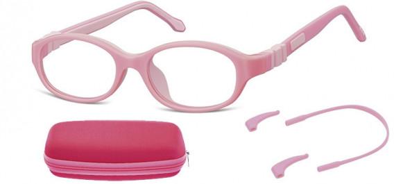 SFE-10590 kids glasses in Pink