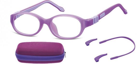 SFE-10590 kids glasses in Purple