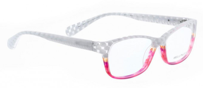 Bellinger CRYSTAL-953 Glasses in White/Pink