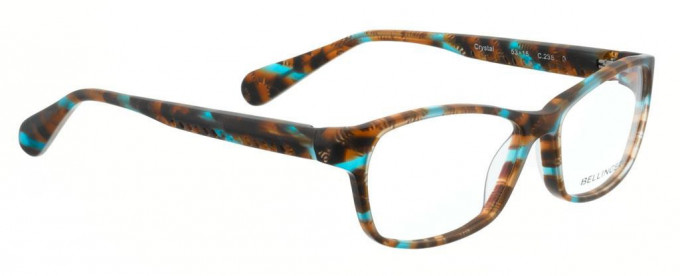 Bellinger CRYSTAL-238 Glasses in Brown/Blue Pattern