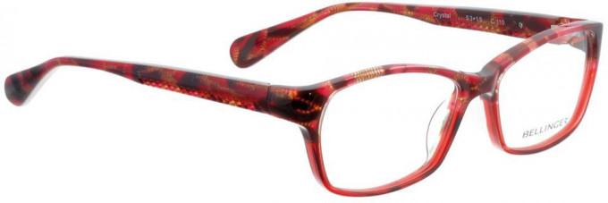 Bellinger CRYSTAL-110 Glasses in Red Pattern