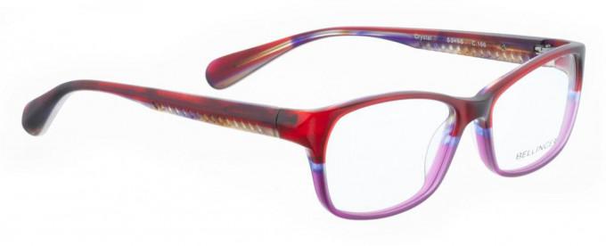 Bellinger CRYSTAL-166 Glasses in Red/Purple