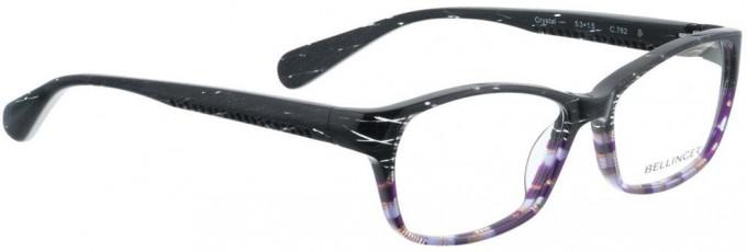Bellinger CRYSTAL-762 Glasses in Grey/Purple Pattern