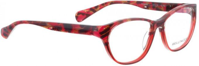 Bellinger AMANDA-110 Glasses in Red Pattern