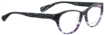 Bellinger AMANDA-762 Glasses in Grey/Purple Pattern