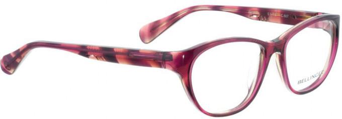 Bellinger AMANDA-607 Glasses in Purple Pattern