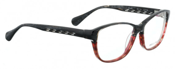 BELLINGER GREEK glasses in Black/Red Pattern