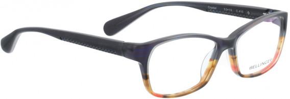 BELLINGER CRYSTAL glasses in Blue