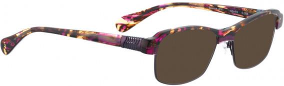 BELLINGER BOUNCE-JFK-1 sunglasses in Brown/Purple Tortoise