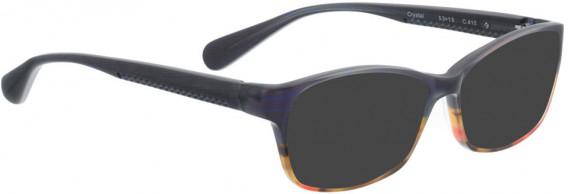 BELLINGER CRYSTAL sunglasses in Blue