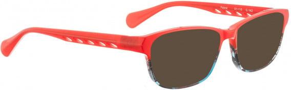 BELLINGER PATROL sunglasses in Red Pattern